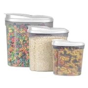 Home Basics 6-Piece Single Canister Cereal Container Set