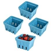 Artland Berry Basket (Set of 4); Blue