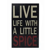Cheungs Live Life Kitchen Wall Decor
