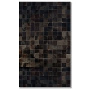 Natural Rugs Barcelona Cowhide Chocolate Area Rug