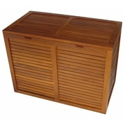 Aqua Teak Spa 2 Section Cabinet Laundry Hamper