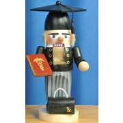 PinnaclePeak Steinbach Signed Doctor Graduate German Wood Christmas Nutcracker
