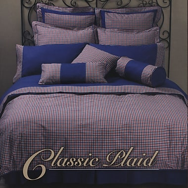 Highland Feather Classic Plaid Duvet Cover Set