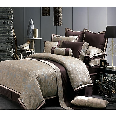 Highland Feather Hudson Valley Duvet Cover Ensemble