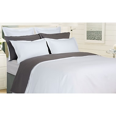 Highland Feather Grey Verona Duvet Cover Set