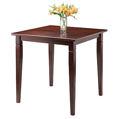Winsome Kingsgate Dining Table Routed with Tapered Leg