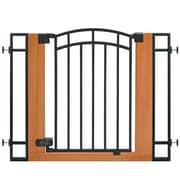 Summer Infant Stylish & Secure™ Metal and Wood Walk Thru Gate