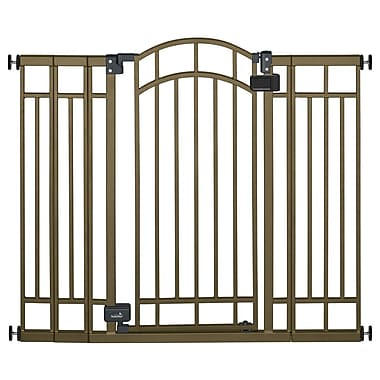Summer Infant Extra Tall Walk Thru Gate, Bronze
