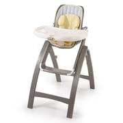 Summer Infant Bentwood High Chair, Chevron Leaf