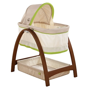 Summer Infant Bentwood Bassinet, Baby Time Collection