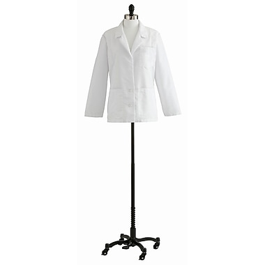 Medline Women Small Consultation Lab Coat, White (88018QHW10)