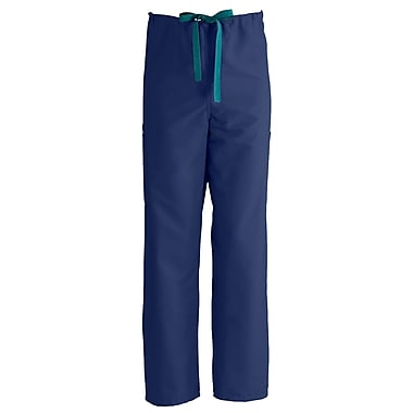 Medline ComfortEase Unisex Large Cargo Scrub Pants, Midnight Blue (950JNTL-CM)