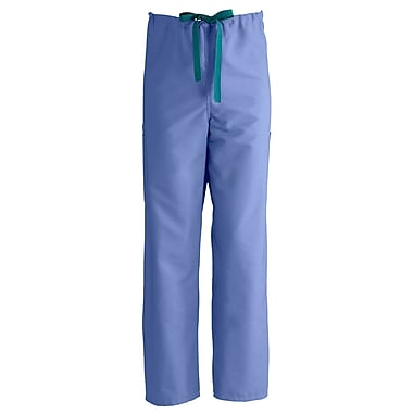 Medline ComfortEase Unisex Small Cargo Scrub Pants, Ceil Blue (950JTHS-CM)