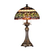 Dale Tiffany Victorianna Aldridge 26'' H Table Lamp with Bowl Shade