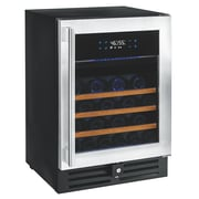 Wine Enthusiast Companies N'Finity Pro 46 Bottle Dual Zone Built-In Wine Refrigerator