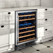 Wine Enthusiast Companies Classic 46 Bottle Dual Zone Built-In Wine Refrigerator