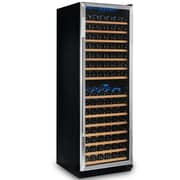 Wine Enthusiast Companies Classic 166 Bottle Dual Zone Built-In Wine Refrigerator