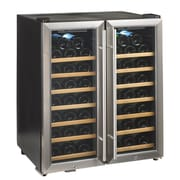 Wine Enthusiast Companies Silent Series 48 Bottle Dual Zone Free-Standing Wine Refrigerator