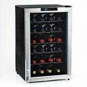 Wine Enthusiast Companies Silent Series 28 Bottle Single Zone Free-Standing Wine Refrigerator