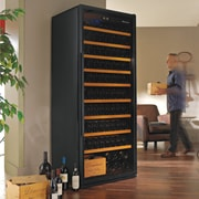 Wine Enthusiast Companies Giant 300 Bottle Single Zone Freestanding Wine Refrigerator