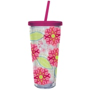 Cypress Ribbons of Courage 20 oz. Insulated Cup with Straw