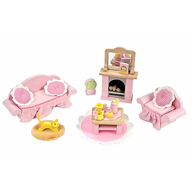 Le Toy Van Daisylane Sitting Room Deluxe Dollhouse Furniture Set