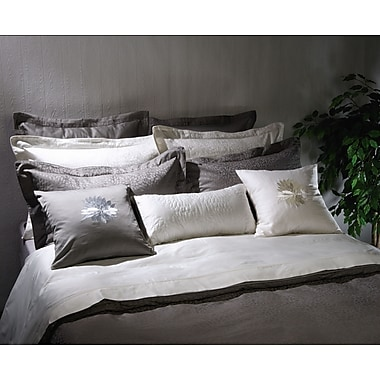 Highland Feather Charcoal Padova Duvet Cover Set