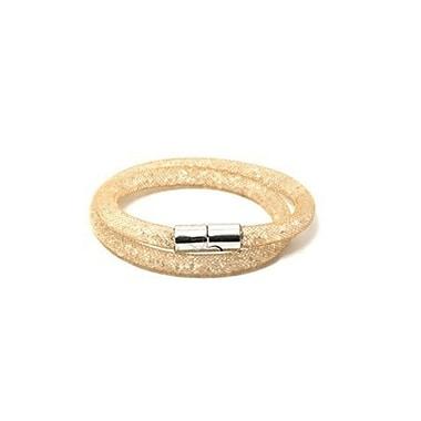 Best Desu Sparkling Crystals Stardust Bracelet, Gold