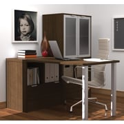 i3 by Bestar L-Shaped Desk, Tuxedo