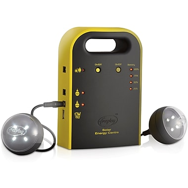 Freeplay Energy Hub Solar Charging Power System with Area Lights