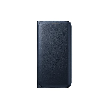 Samsung GS6 Edge Flip Wallet, Black