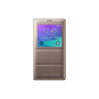 Samsung View Cover for Note 4, Gold