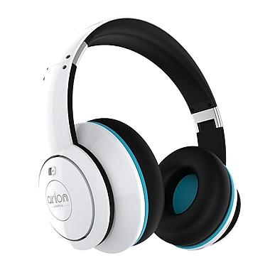 Arion Legacy ARDS1 Deep Sonar Extreme Clarity PC and Music Headphones, White, English Only