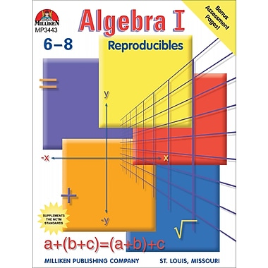 eBook: Algebra I, Grades 6-8 (PDF version, 1-User Download), 9780787781682