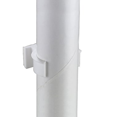 IDL Displays Pole/Bottle Sign Holder with Adhesive, 1-1/2