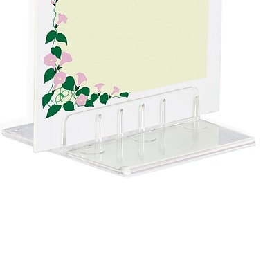 IDL Displays Table Top Card Holder, 50/Pack