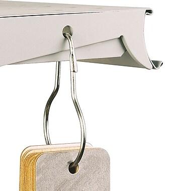 IDL Displays Metal Pear Clip Merchandising Hook, 25/Pack