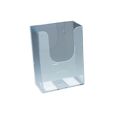 IDL Displays Wallmount Brochure Holder For Literature, Up To 4