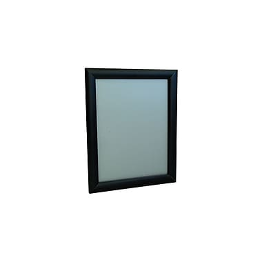 IDL Displays Klik Frame Wallmount, Black, 8-1/2