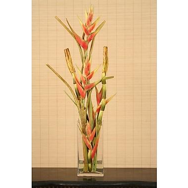 Distinctive Designs Waterlook Faux Heliconia in Vase