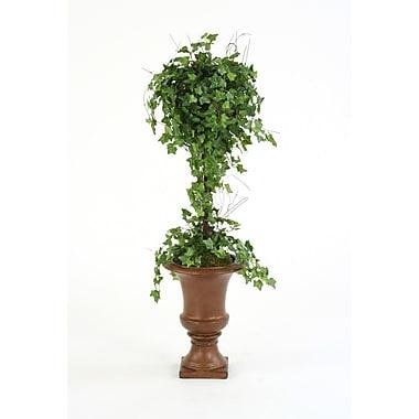 Distinctive Designs Silk Ivy Ball Topiary in Urn