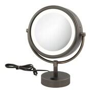 Kimball & Young Kimball & Young NeoModern LED Lighted Mirror; Italian Bronze