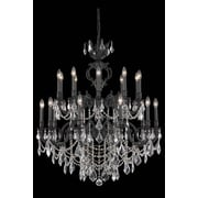 Elegant Lighting Marseille 20 Light Large Chandelier; Crystal (Clear) / Elegant Cut