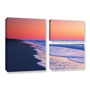 ArtWall Lavender Sea I by Steve Ainsworth 3 Piece Photographic Print on Gallery Wrapped Canvas Set