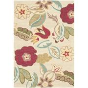 Safavieh Blossom Beige/Multi Floral Area Rug; 8' X 8' Round