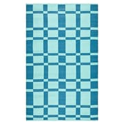 Thom Filicia Rugs Thom Filicia Saddle Sea Blue Indoor/Outdoor Rug; 2'-6'' X 4'