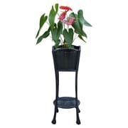 Jeco Inc. Novelty Plant Stand; Black