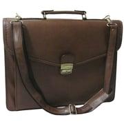 AmeriLeather Executive Briefcase; Brown