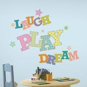 Wallhogs ''Laugh Play Dream'' Wall Decal