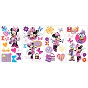 Wallhogs Disney ''Mickey Friends'' Minnie Bow-tique Cutout Wall Decal